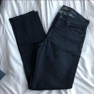 7 for all mankind slimmy dark wash jean